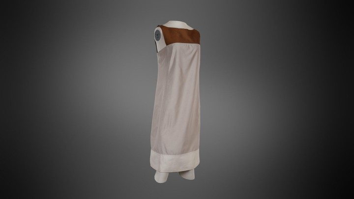 Vintage Prada 3 Tone A-line Dress
