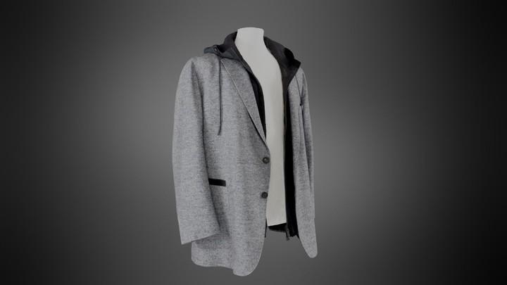 Zegna Custom Made Hooded Blazer (Open)