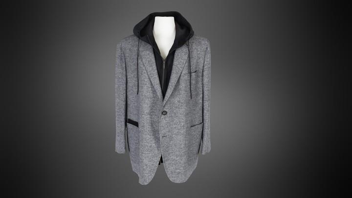 Zegna Custom Made Hooded Blazer (Closed)