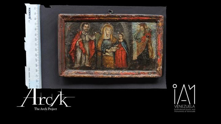 Saints Joachim and Anne, the Virgin as a Child