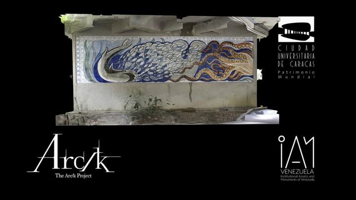 Mural en el Comedor Universitario