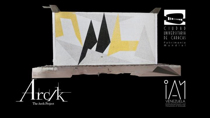 Sin Titulo, Mural de Carlos Gonzalez Bogen (Mural 1), Estadio Olimpico