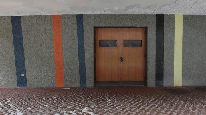 Sin Titulo, Mural de Alejandro Otero, Auditorio Facultad de Ingenieria