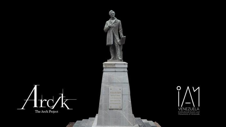 Estatua de José María Vargas