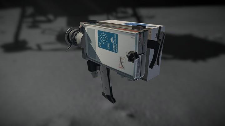 Apollo 16MM Maurer Data Acquisition Camera