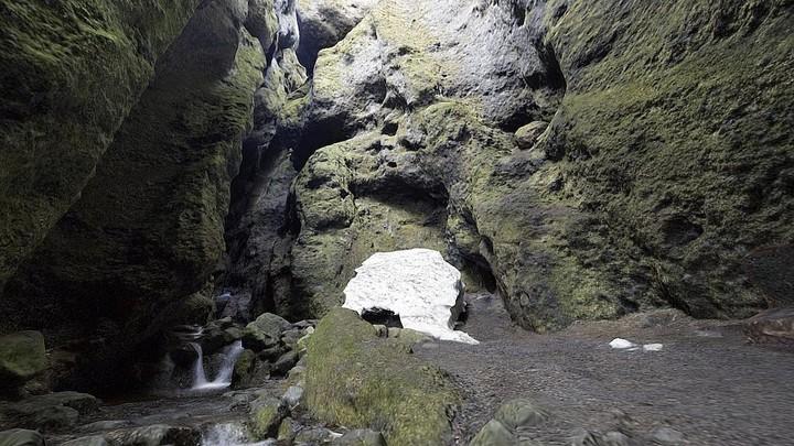 Icelandic Cave (II) (interior)