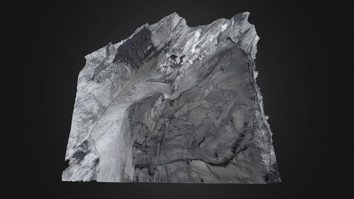 Icelandic Glacier (VIII) (ground level)