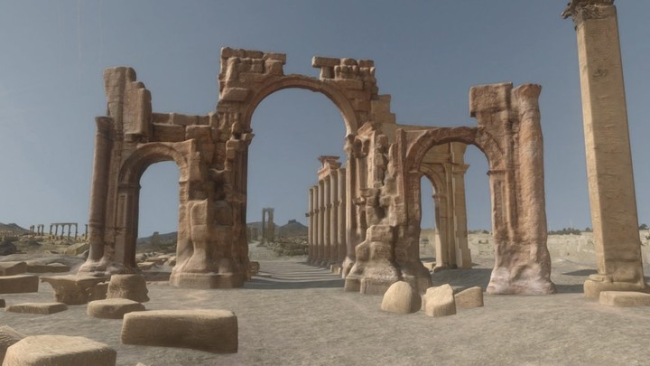 Monumental Arch of Palmyra (Interactive 3D Experience)