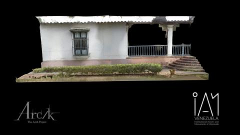 Façades Quinta de Anauco, Museo de Arte Colonial de Caracas (Sections A and C)