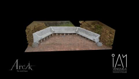 Benches and Garden - Quinta de Anauco