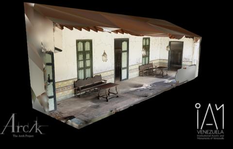 Façade and Garden - Quinta de Anauco, Museo de Arte Colonial de Caracas (Section J)
