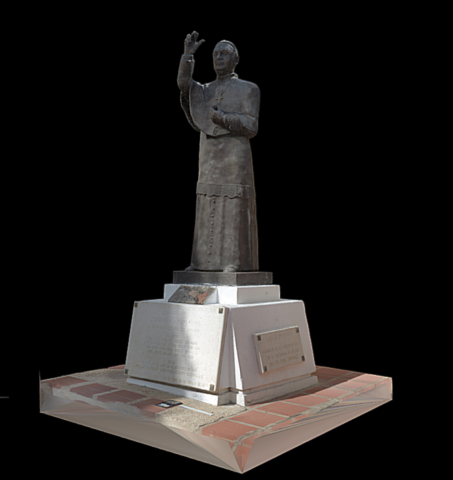 Escultura de Rodrigo de Bastidas y Rodriguez de Romera